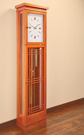 Prairie-Style Tall Clock