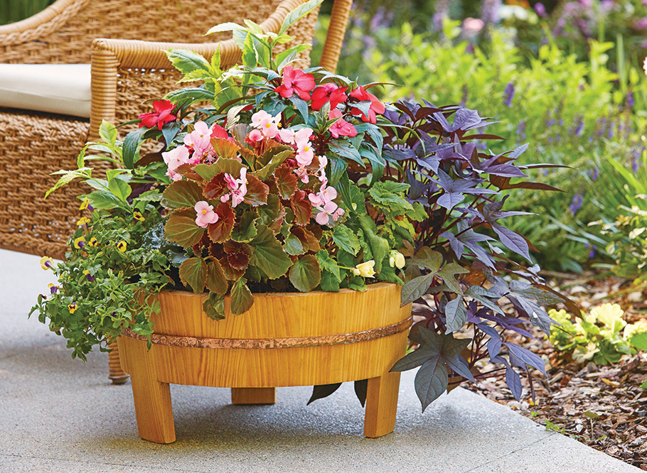 This outdoor project will throw you some fun curves in the shop. Once the planter is complete, it's the perfect choice for showing off your gardening prowess.
