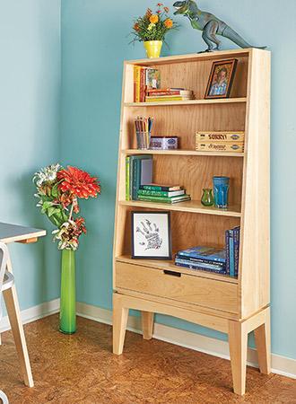 Slant-Front Bookcase