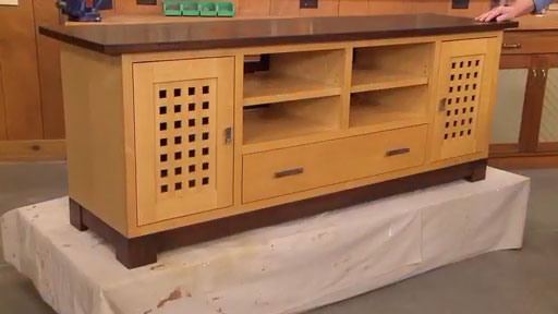 Flat-Screen TV Cabinet