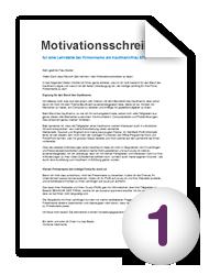 Motivationsschreiben Wie Mache Ich Es Richtig