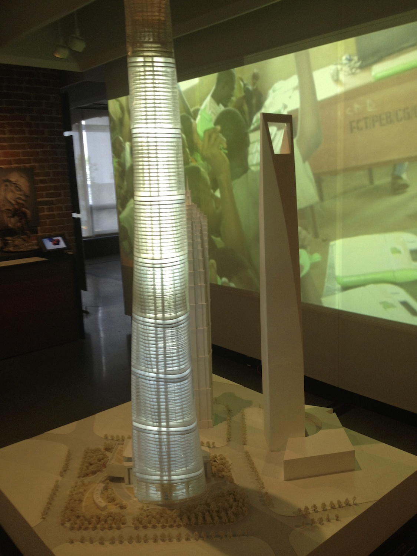 Model of the Shanghai Tower