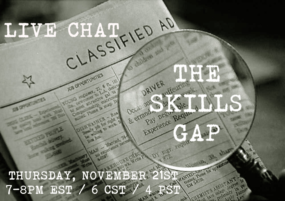 Live Chat: Closing the Skills Gap