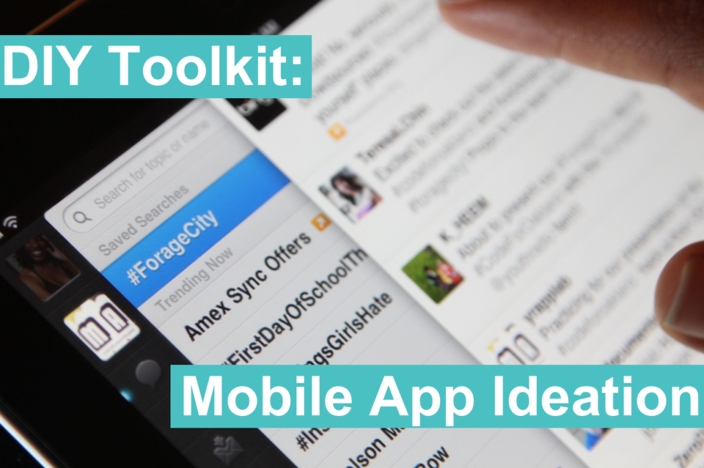 DIY Toolkit: How To Come Up With Your Own Mobile App