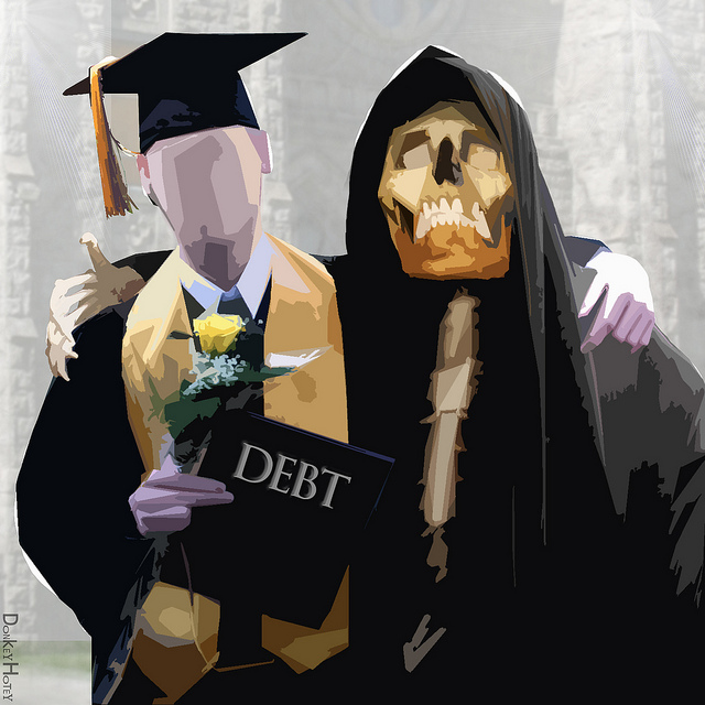 Swimming in Debt
