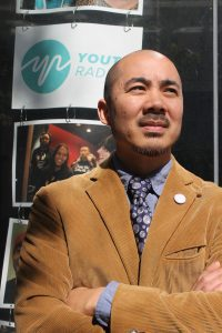 Erik Sakamoto, Youth Radio's Chief Operating Officer.
