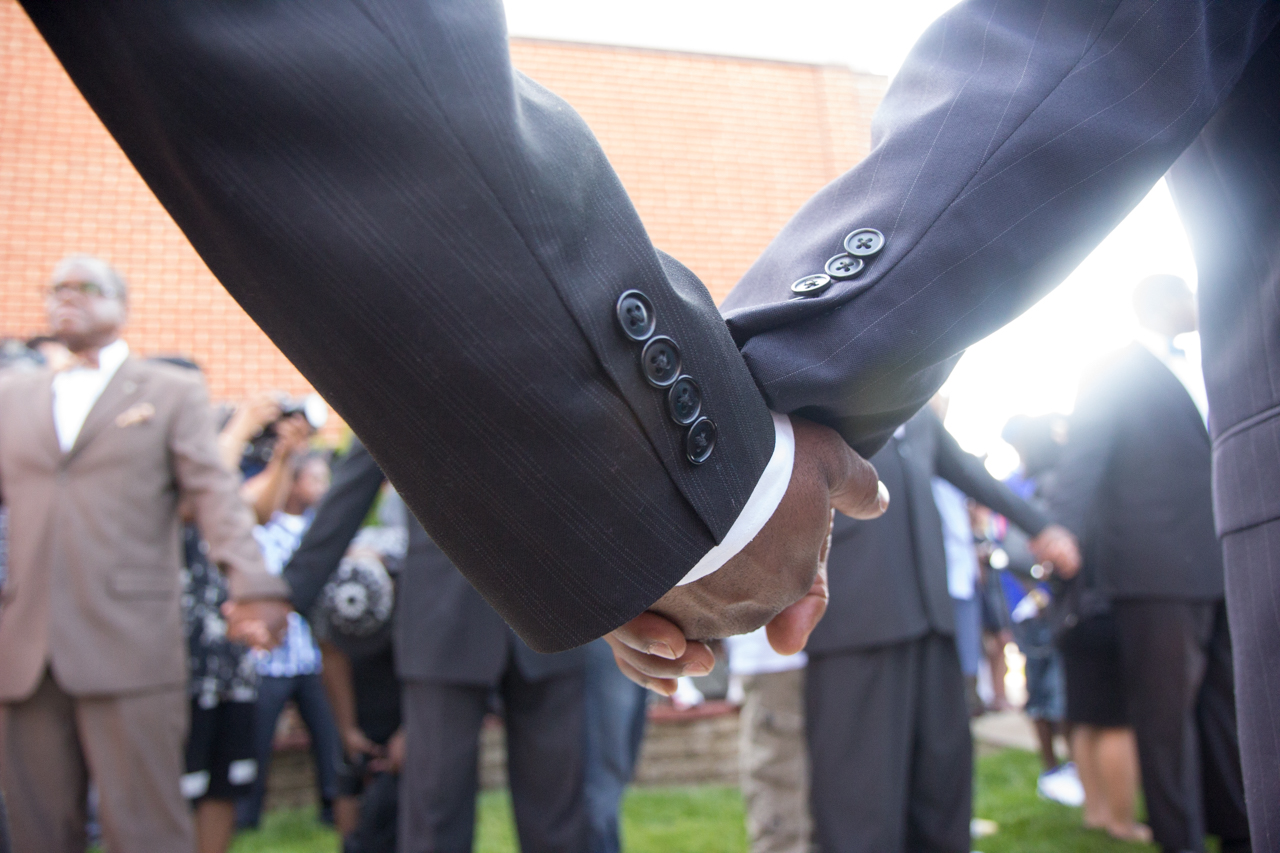 The Funeral of Michael Brown
