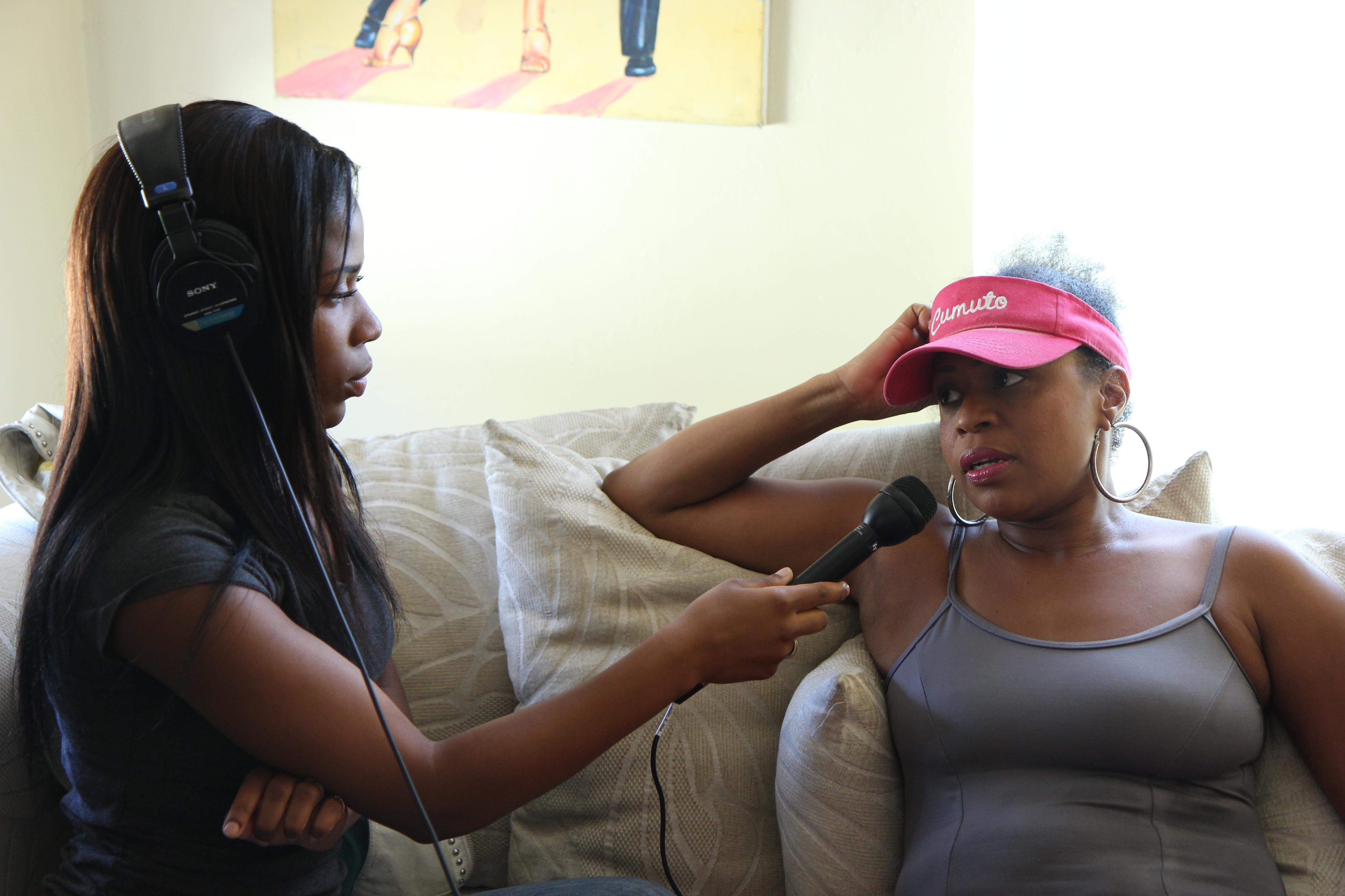 diy toolkit the art of the interview youth radio youth radio reporter onaja waki interviews her mother oneida cordova