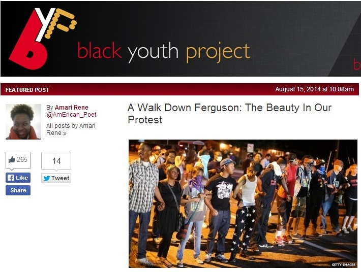 Black Youth Project On Beauty In Protest