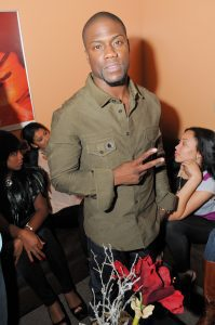 Kevin Hart at the BWX Lounge