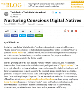 huffington post blog digital native