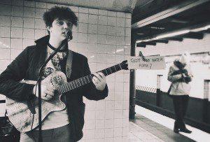Subway samba | 42nd St.-Bryant Park Station