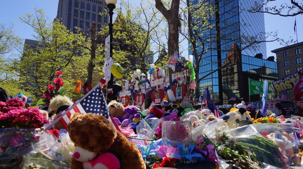 2013 Copley Square Memorial in Boston, MA.