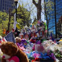 2013 Copley Square Memorial in Boston, MA.