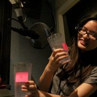 17-year-old Amber Ly takes the tap versus bottled water taste test. Credit: Youth Radio