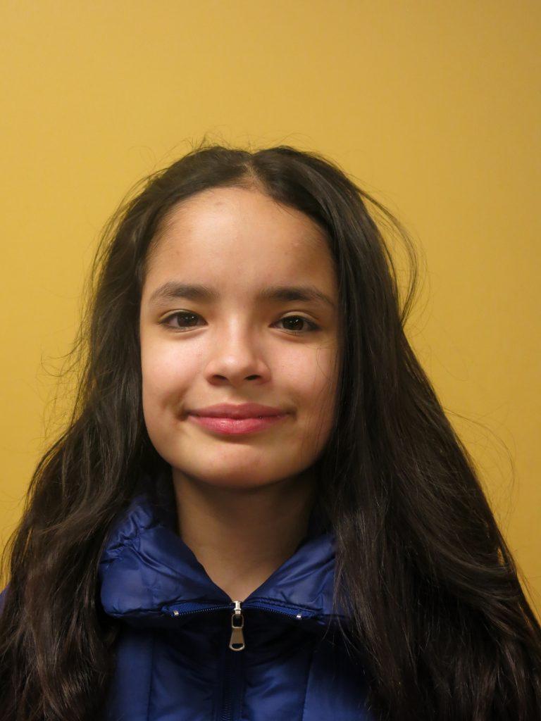 Bostonian Frida Swallow, 11, says she does not support the death penalty for Dzhokar Tsarnaev.