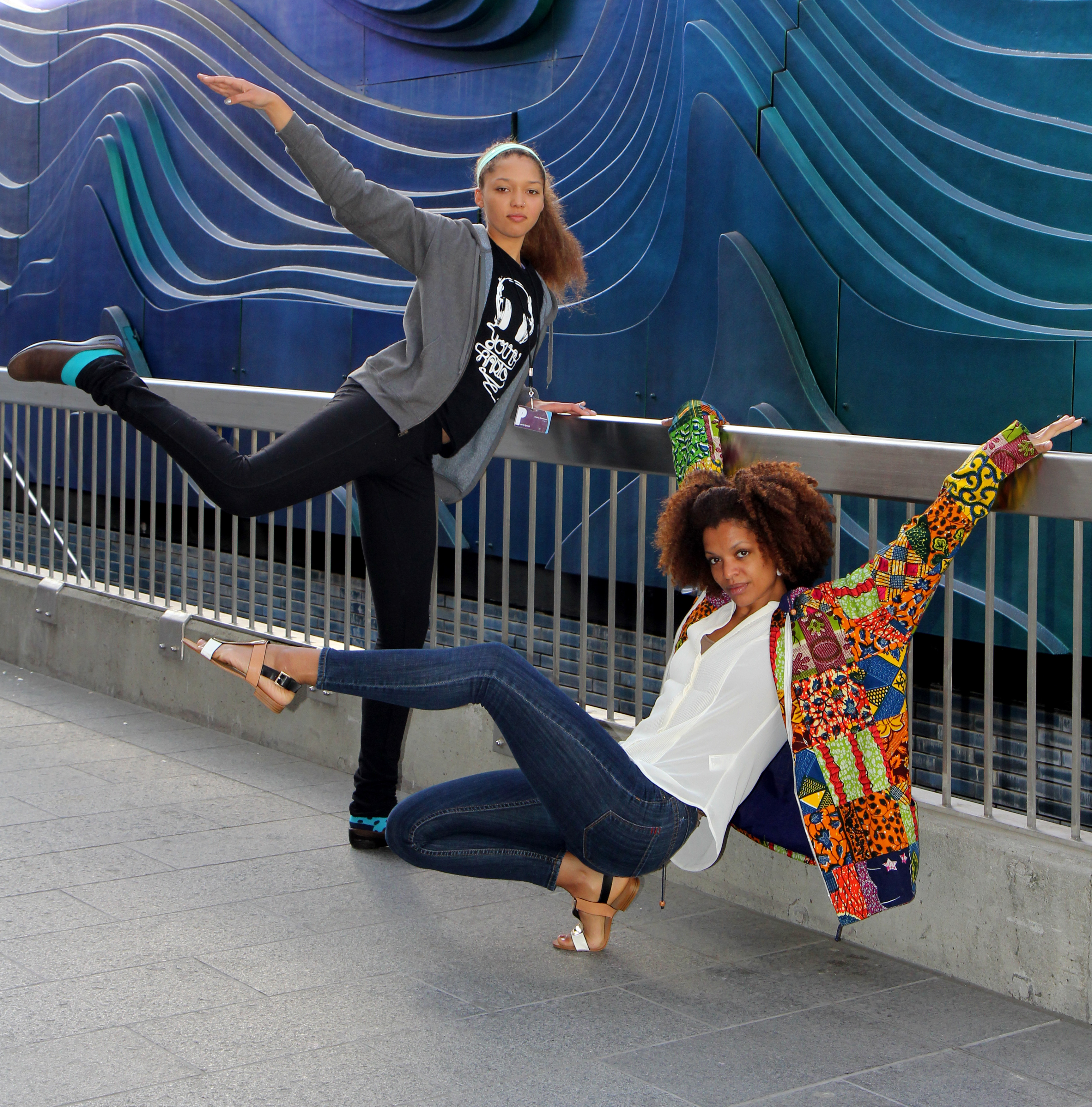 Dancing With An Alvin Ailey Dancer