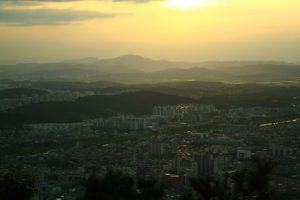Sunset in Cheongju, South Korea