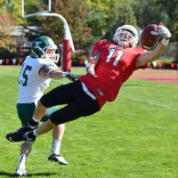 SOU football - Dylan Young circus catch