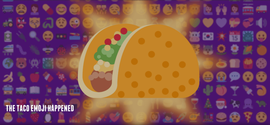 The Taco Emoji Happened