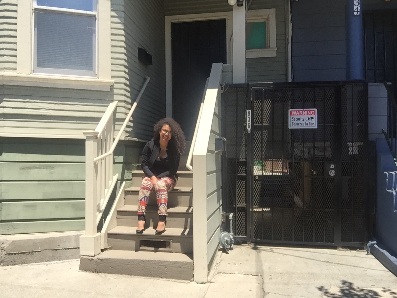 9-year-old Elizabethe Matute shares this West Oakland apartment with five other people, paying nearly 80 percent of her income in rent.