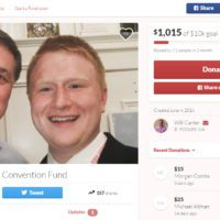 Georgia delegate Will Carter, 18, used GoFundMe to help pay for his trip to the RNC.