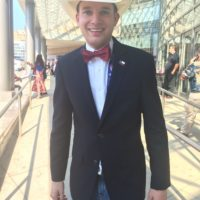 Colton Buckley is a Texas delegate and Log Cabin Republican.