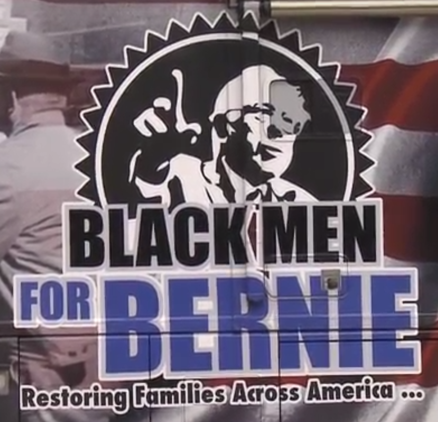 "A Look Inside The ""Black Men For Bernie"" Bus"