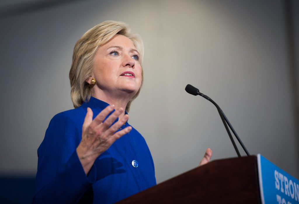 Hillary Clinton at a campaign event in Orlando, FL. (September 21, 2016) Credit: Barbara Kinney for Hillary for America.