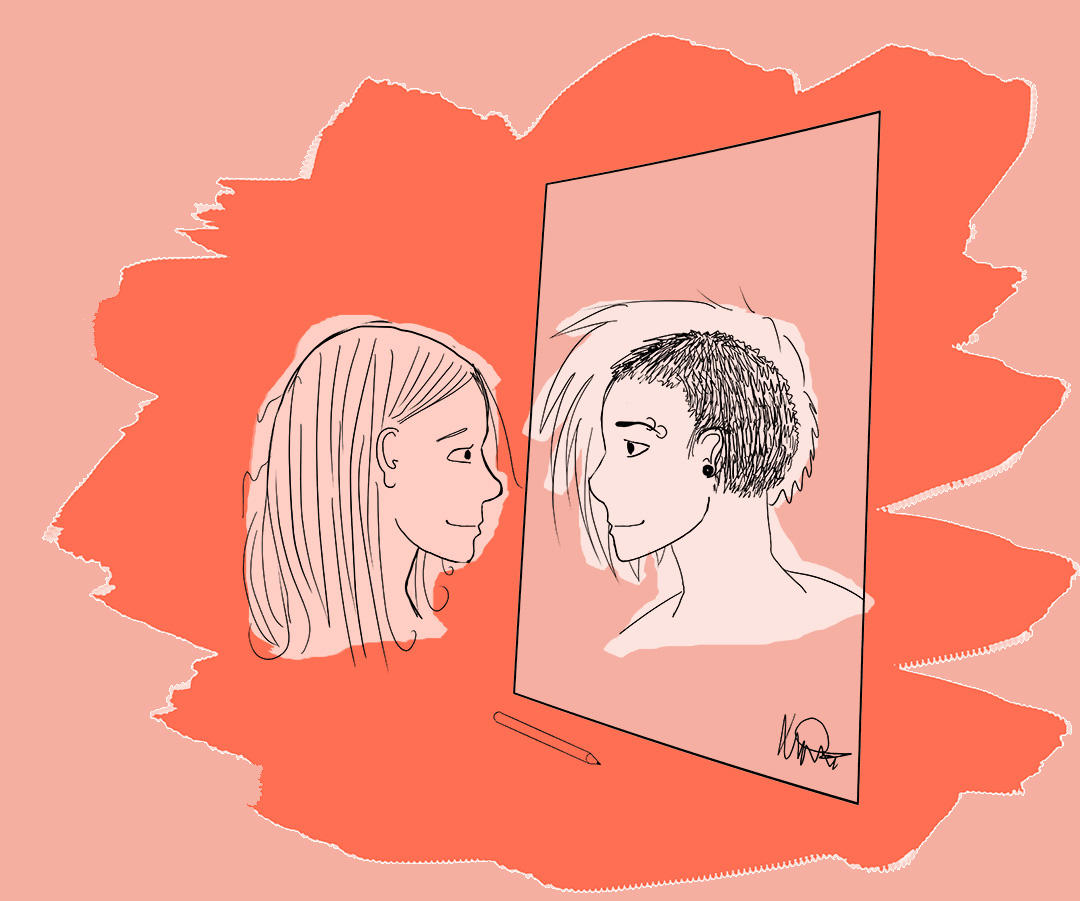 I'm Just Drawn This Way: An Illustrated Coming Out Story