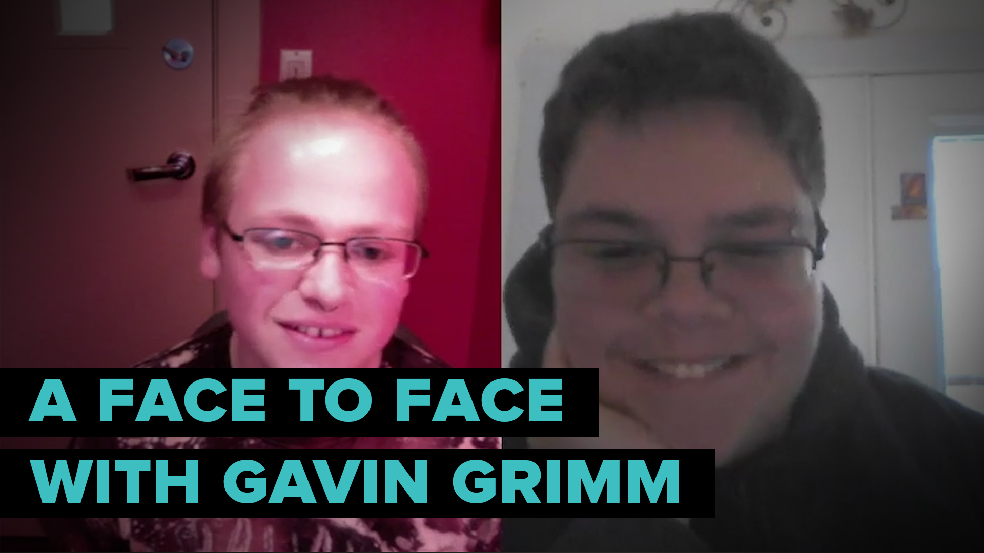 A Face to Face With Trans Teen Advocate Gavin Grimm