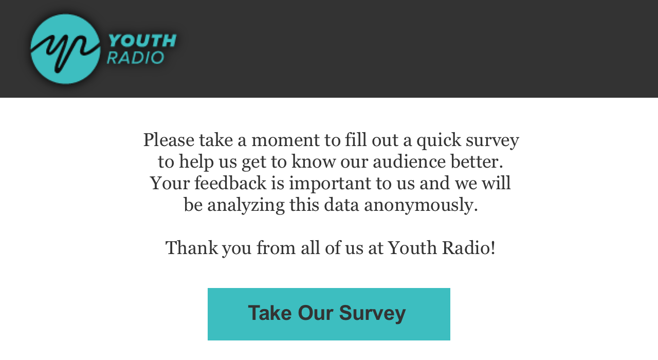 Youth Radio Audience Survey
