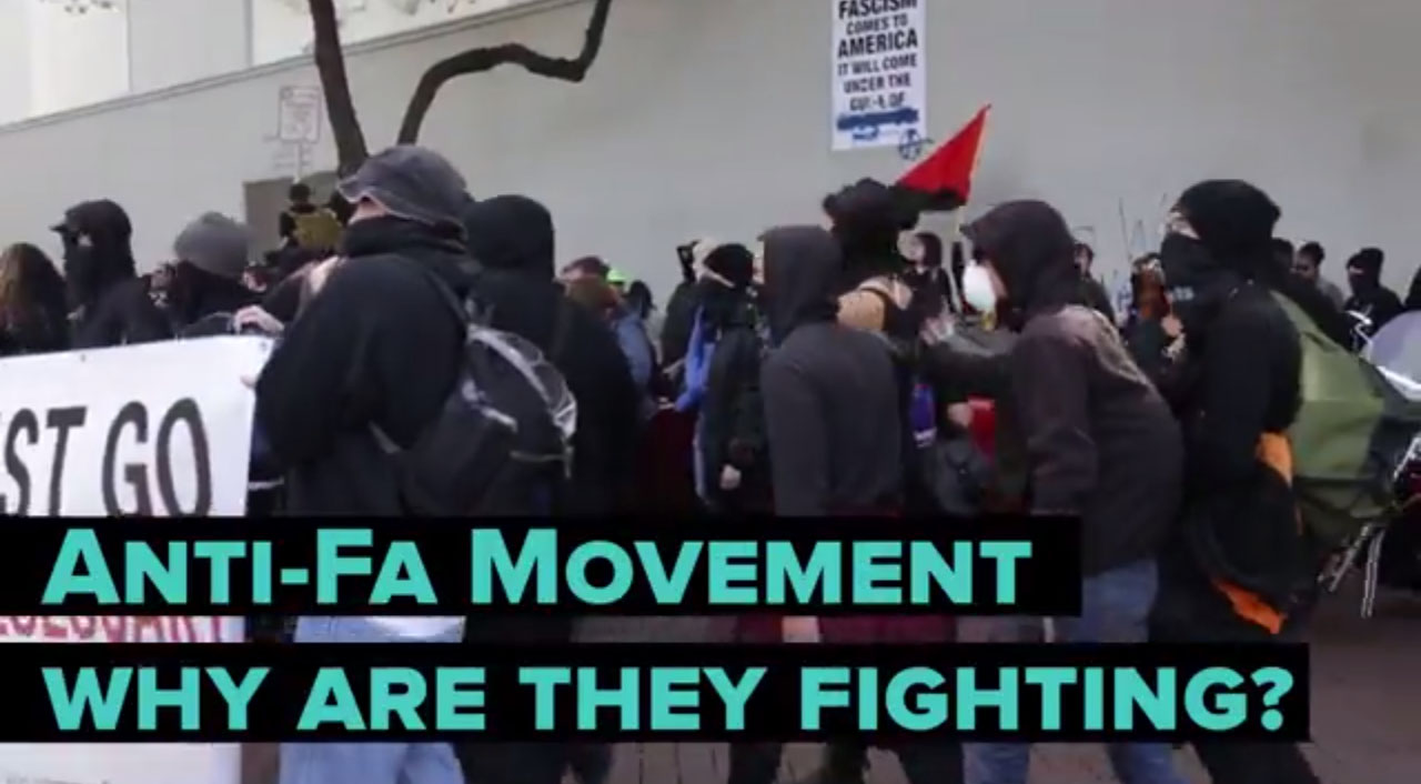 """""""Why I Joined Antifa"""": A Black Bloc Protester Explains His Reasons"""