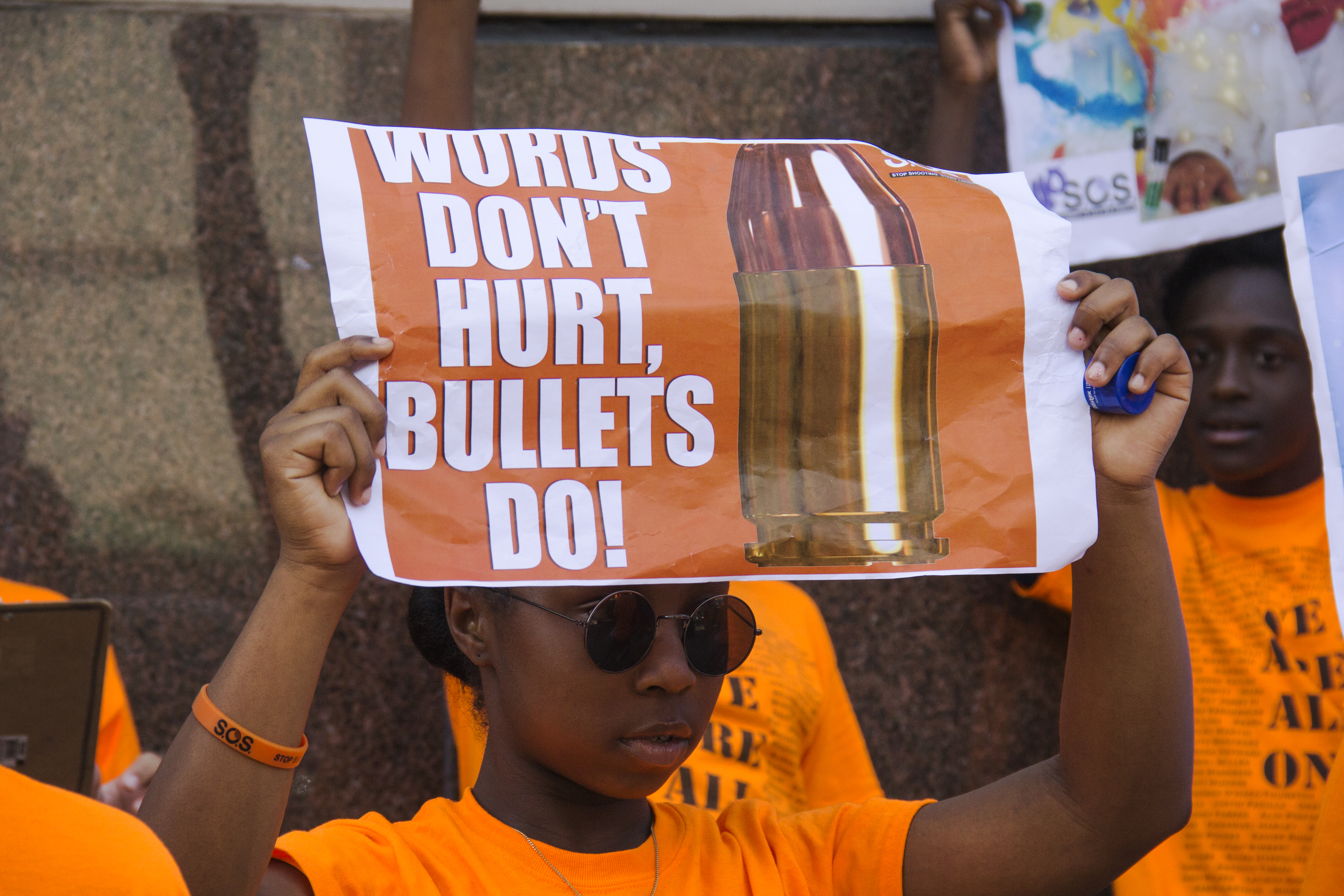 """This Is Not Normal"": Seventh Graders March To End Gun Violence In Brooklyn"