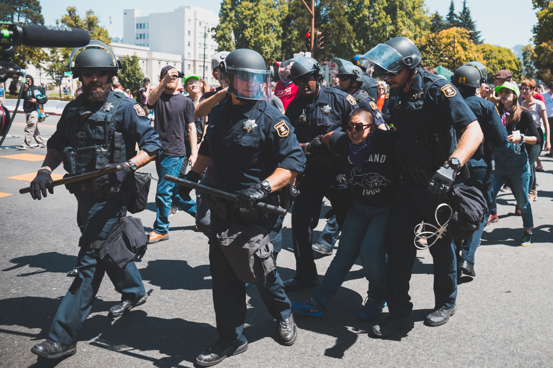 Berkeley Protests: From Calm to Chaos