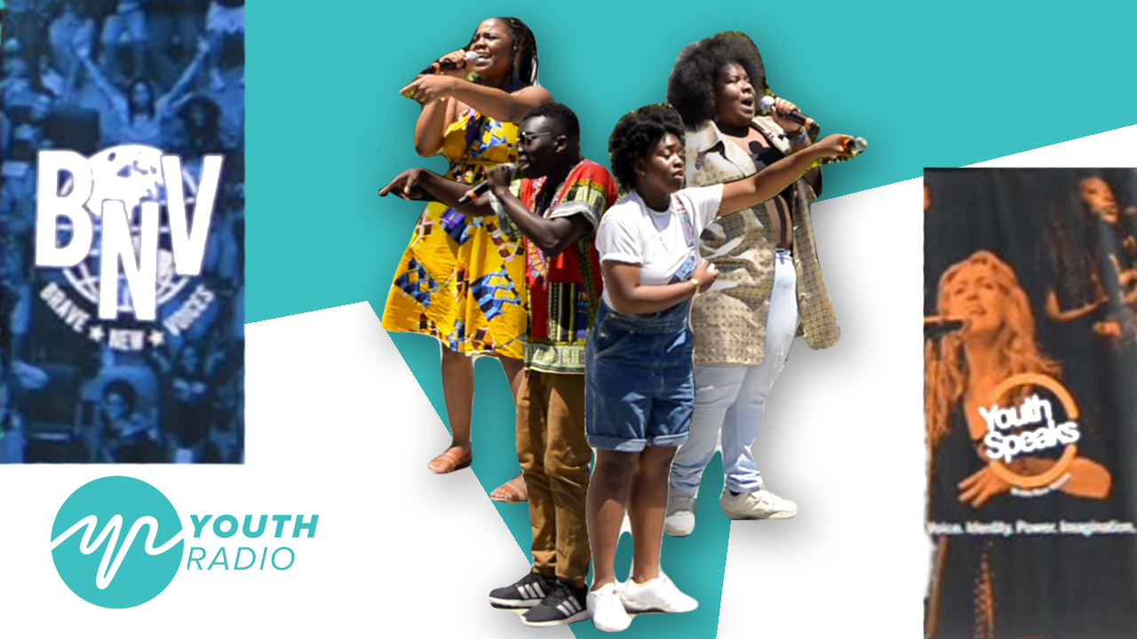 Spotlight: 20th annual Brave New Voices Youth Poetry Slam Festival
