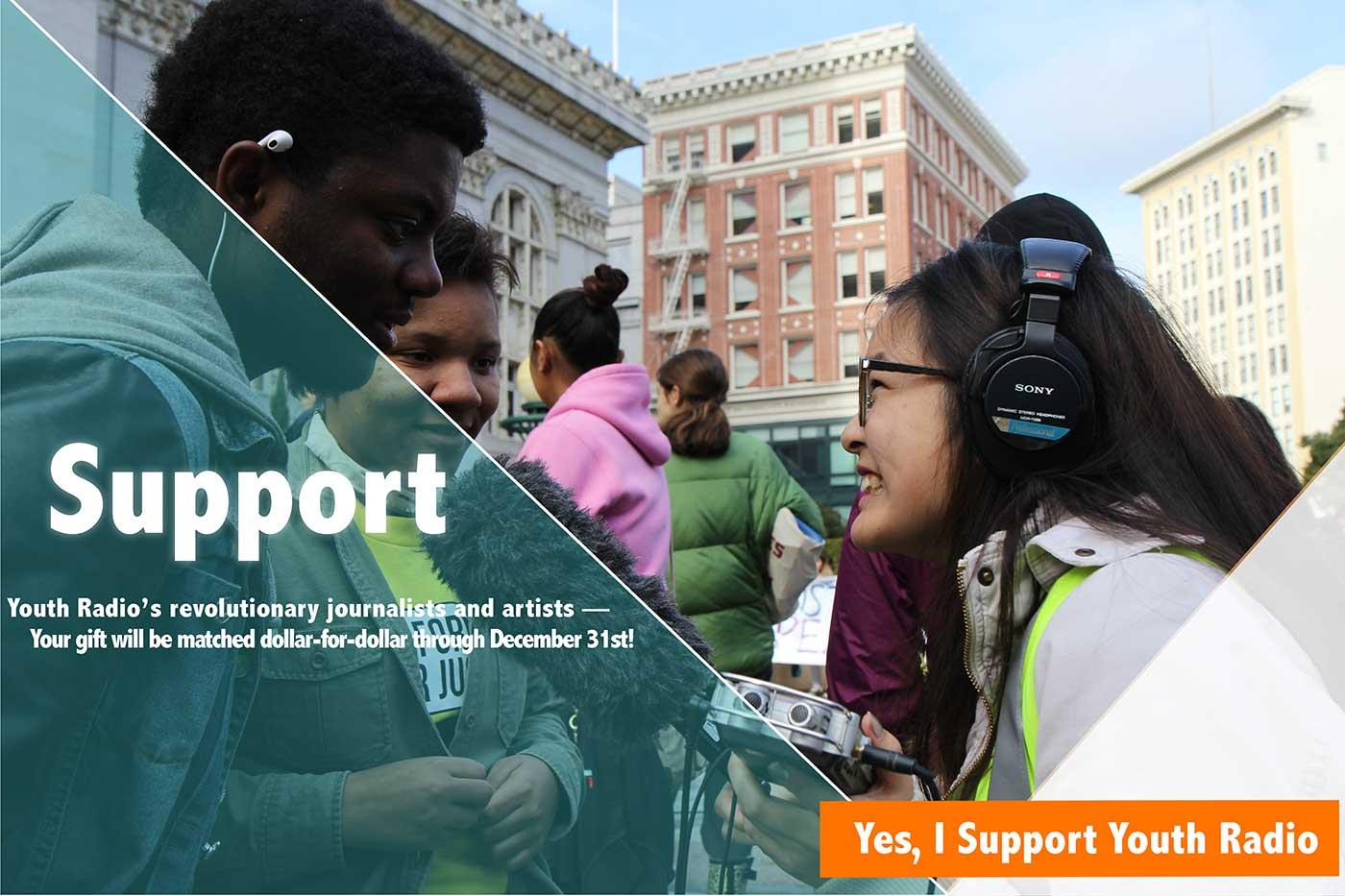 Youth Radio Donate
