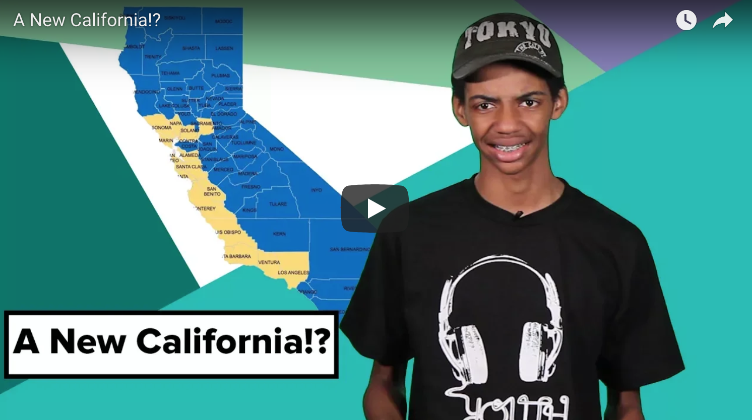 A New California: Should CA Become Two States?