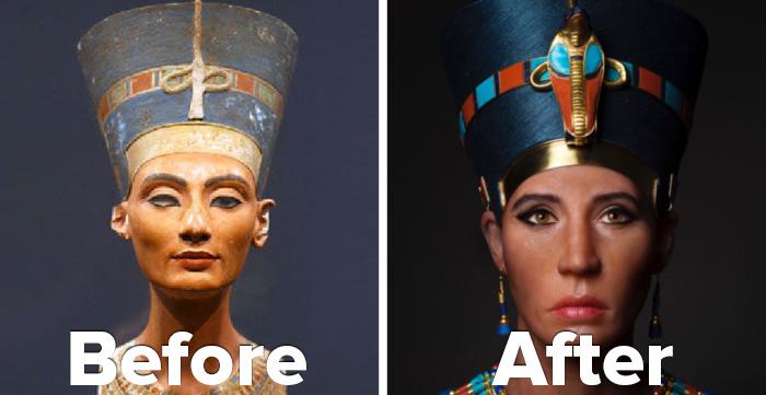 Queen Nefertiti Whitewashed?