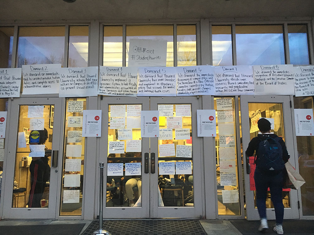 Here's What You Need To Know About The Howard University Sit-In