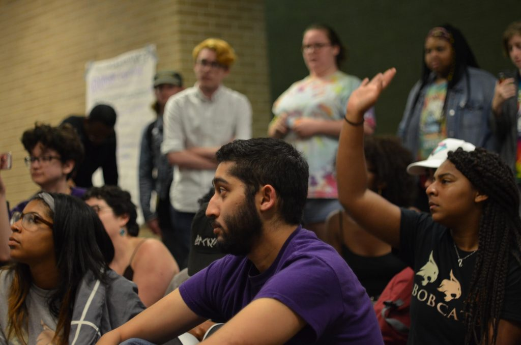 texas state sit-in
