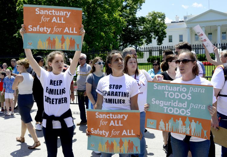 family separation policy protest