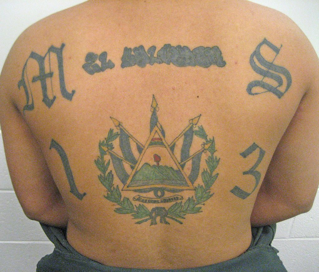 MS-13 tattoo