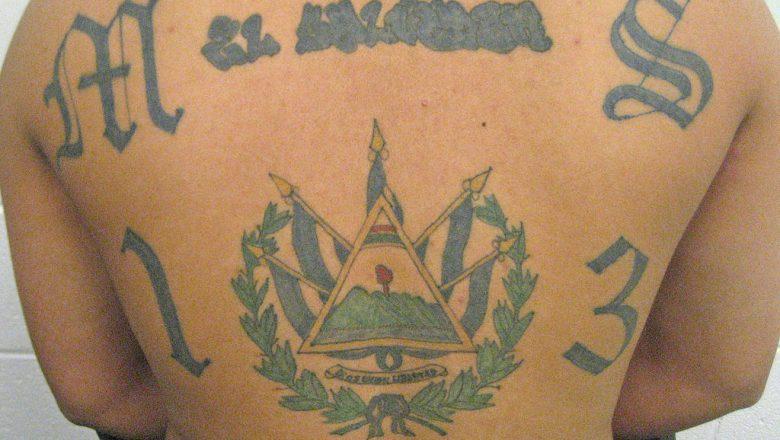 MS-13 tattoo