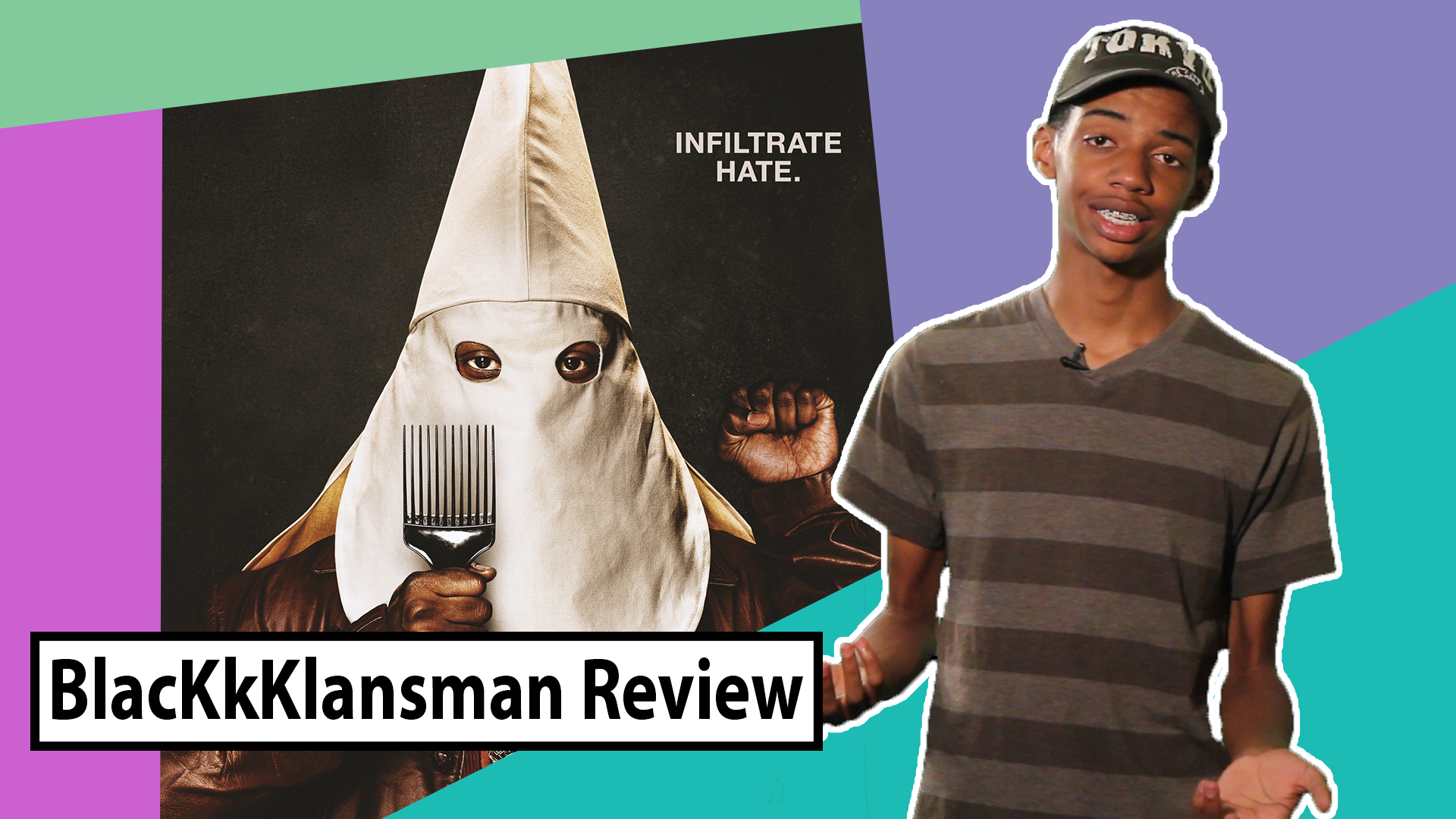 Riley reviewing BlacKkKlansmen