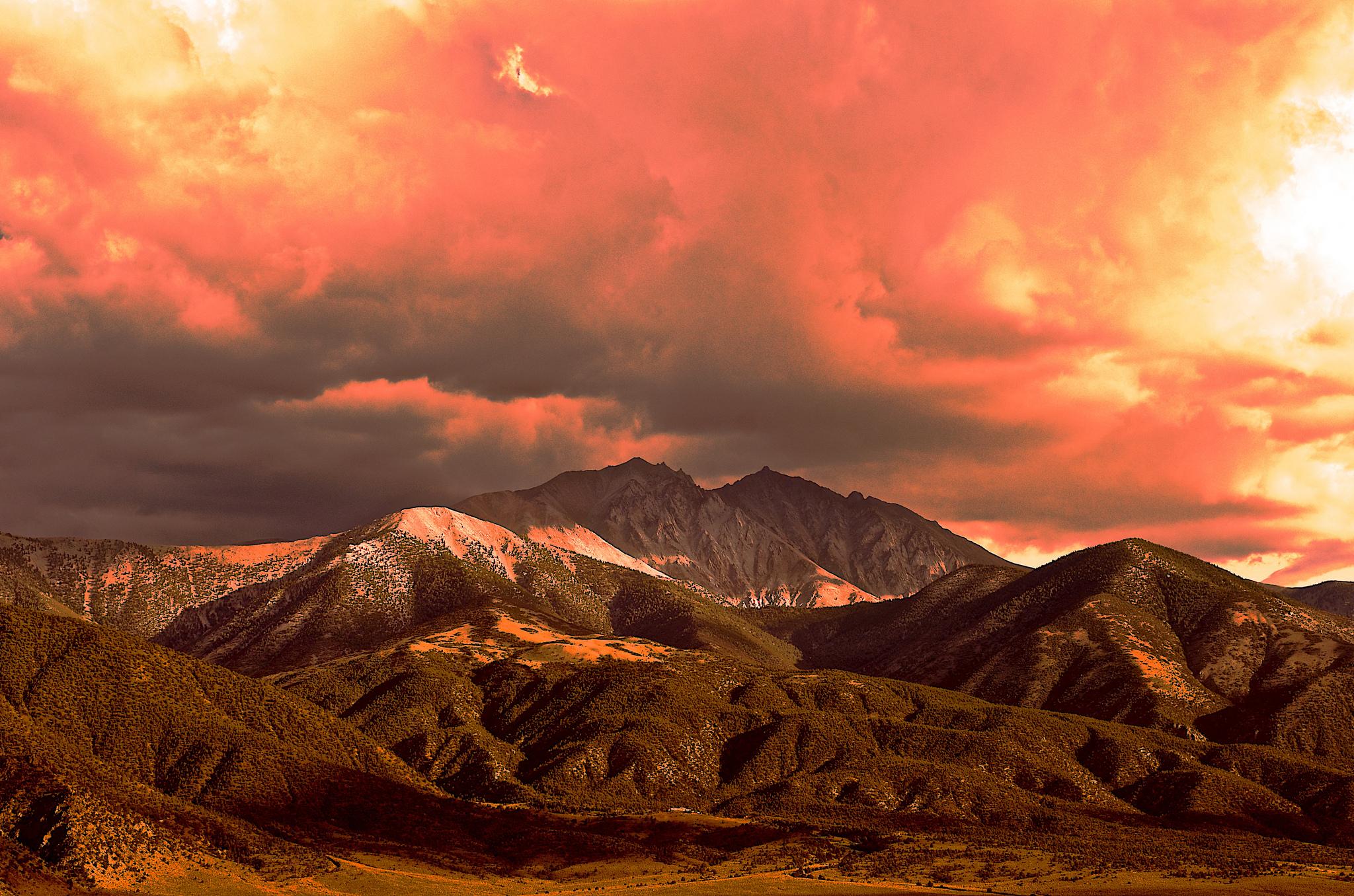 Pretty mountains.