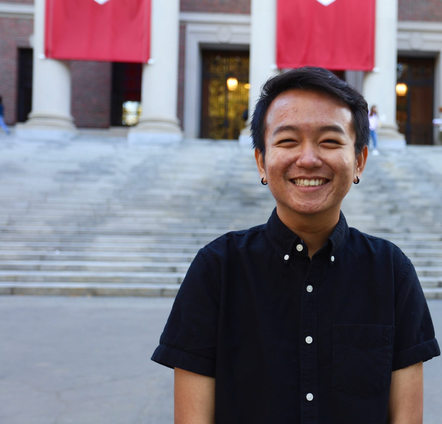 Student At Harvard Defends  Affirmative Action