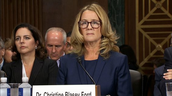 As Christine Blasey Ford Testifies, Classrooms Tune In and Students Take Note