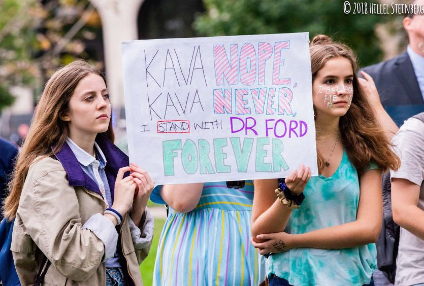 Kavanaugh protesters