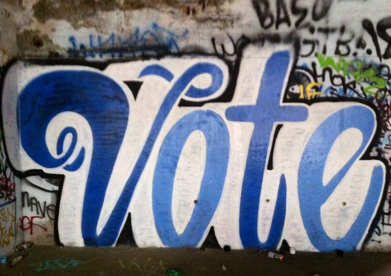 Vote Graffiti